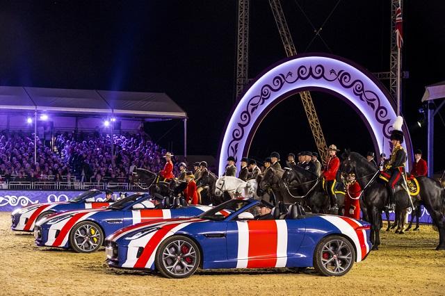Jaguar F-Type день рождения королевы
