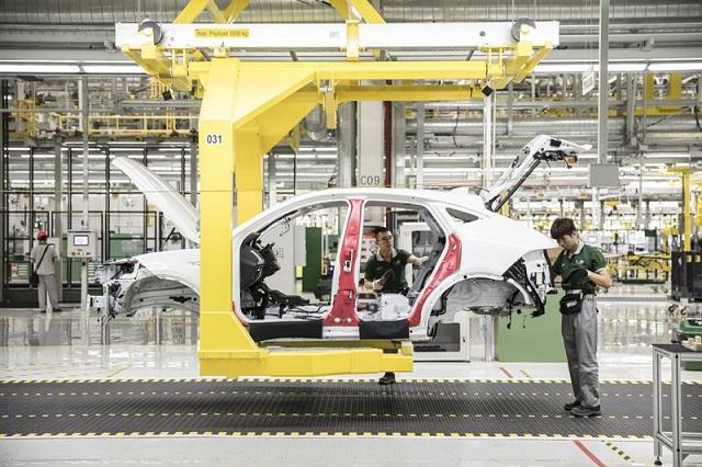 Jaguar завод в Китае