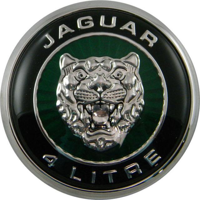 Логотип Jaguar Growler зеленый цвет