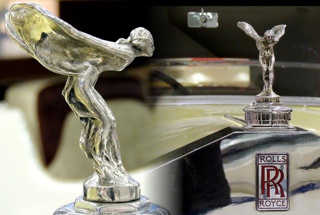 Spirit Ecstasy Rolls Royce