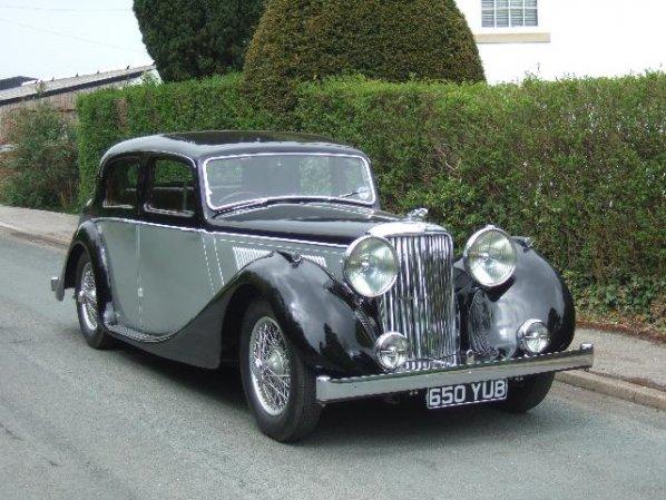 Jaguar Mk 4 Saloon