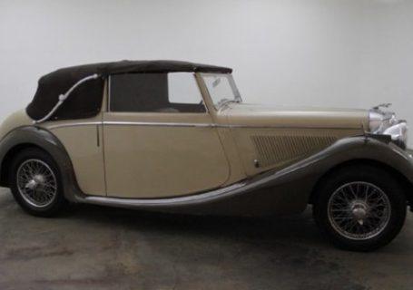 Jaguar Mk IV Drop Head Coupe
