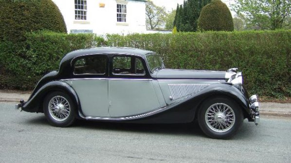 Jaguar Mk IV Saloon