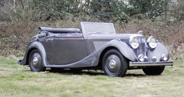 SS Jaguar Drop Head Coupe