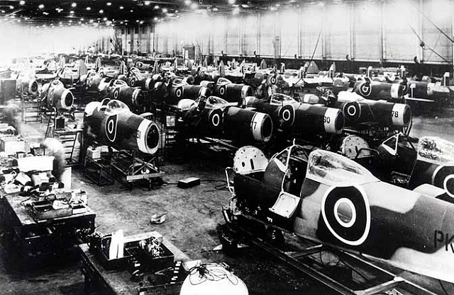 Завод Castle Bromvich во время Второй мировой