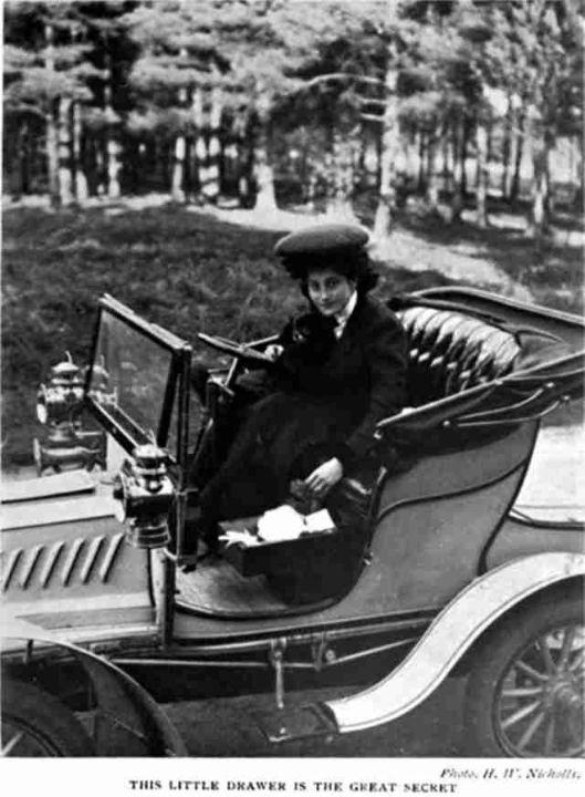 Dorothy Levitt изобретатель перчаточного ящика