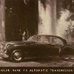 Jaguar Automatic transmission model 1957