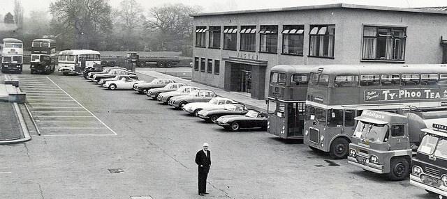 Завод Jaguar в Броунс Лейн
