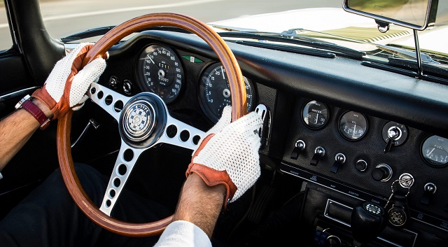 Jaguar Cars перчатки