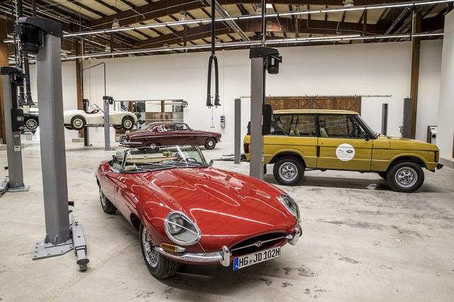 Jaguar E-Type центр классических автомобилей в Ковентри