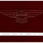 Jaguar Mk VII M catalogue 1955