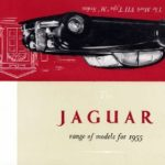 Jaguar Range of models 1955
