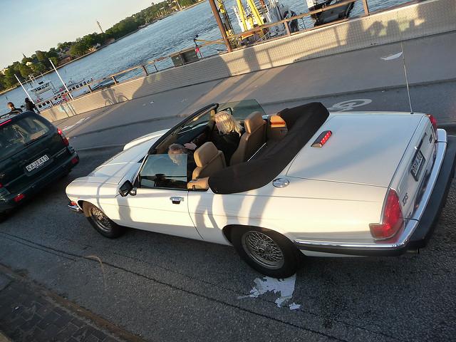 Jaguar XJS кабриолет лето