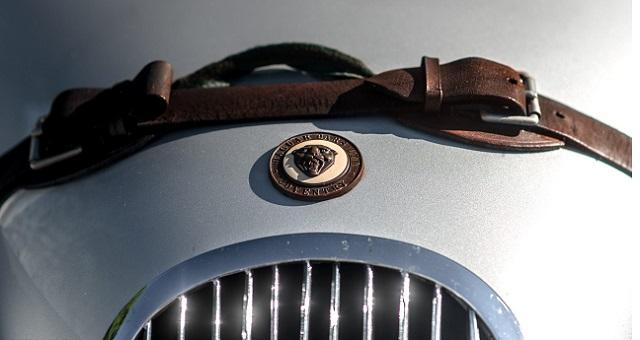 Эмблема Jaguar XK120
