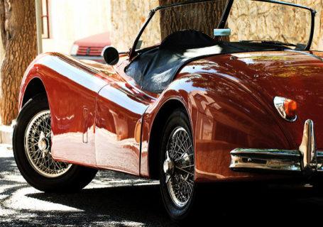 Jaguar XK140 лето август