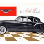 Jaguar card folder 1954