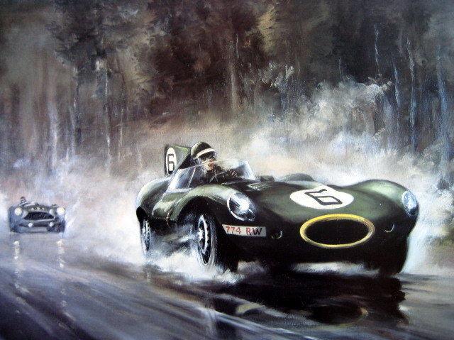 Le Mans гонка в 1955 году
