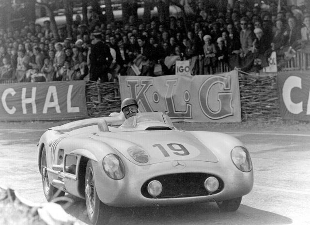 Mercedes 300SLR в Ле Ман 1955 год