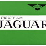New Jaguar catalogue 1955