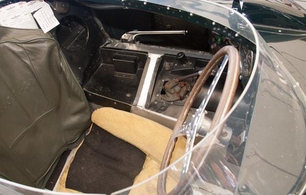 First Jaguar D-Type