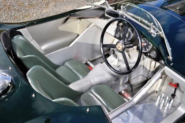 Jaguar C-Type Aero interior