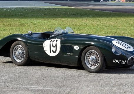Jaguar C-Type Aerodynamic