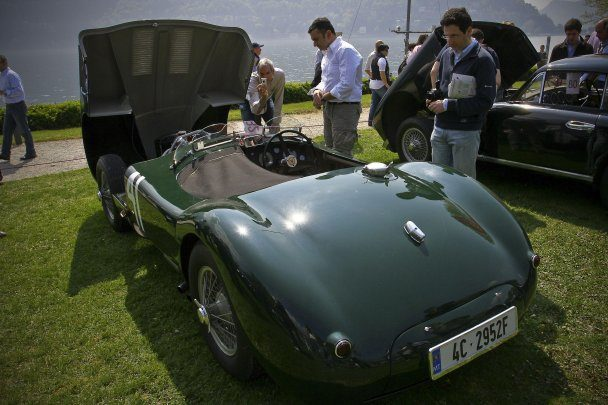 Jaguar C-Type body