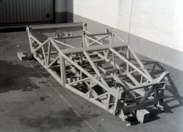 Jaguar C-Type frame