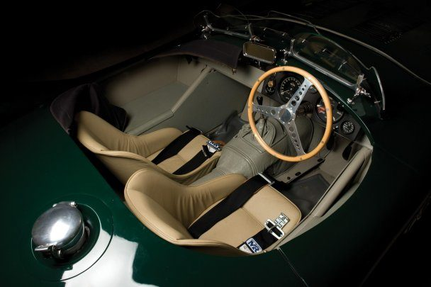 Jaguar C-Type interior