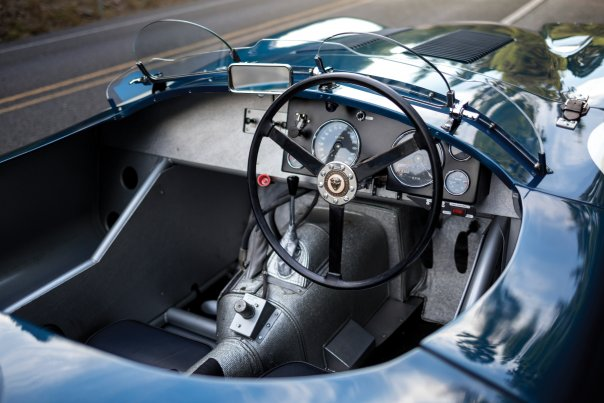 Jaguar C-Type Lightweight interior