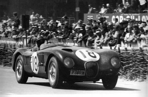 Jaguar C-Type Lightweight Le Mans 1953