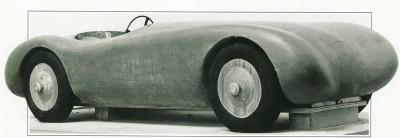 Jaguar C-Type prototype