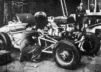 Jaguar C-Type tubular chassis