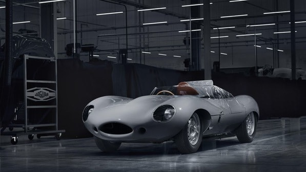 Jaguar D-Type 2018