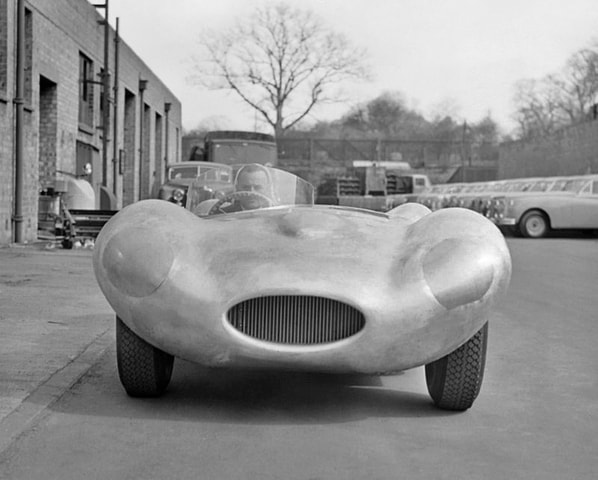 Jaguar D-Type early prototype