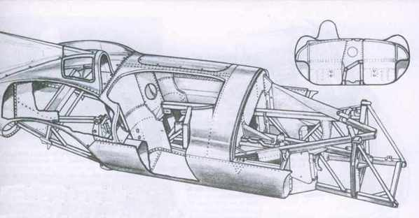 Jaguar D-Type drawing