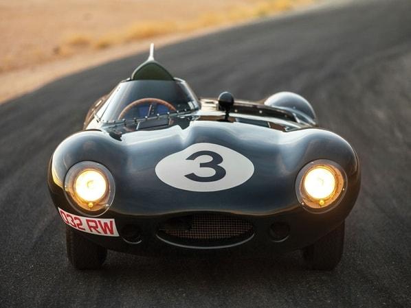 Jaguar D-Type Long Nose 032 RW