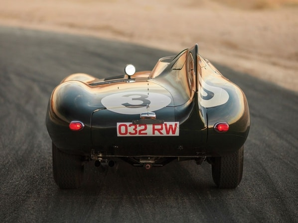 Jaguar D-Type Long Nose number 3