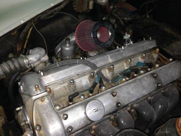 Jaguar Mk 7 Engine