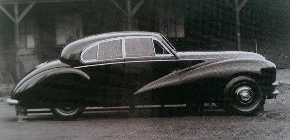 Jaguar Mk 7 Prototype
