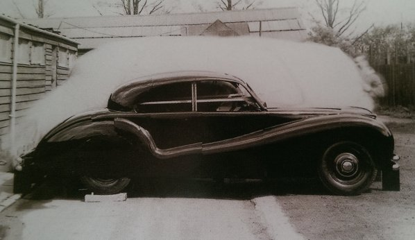 Jaguar Mk VII Prototype