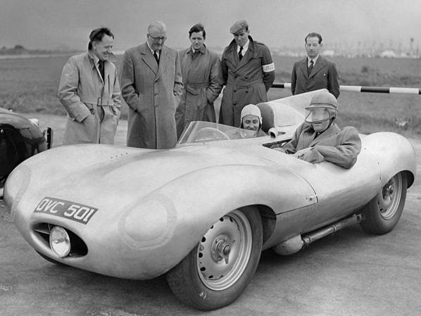 Prototype Jaguar D-Type