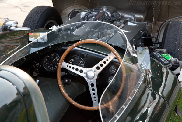 Serial Jaguar D-Type interior