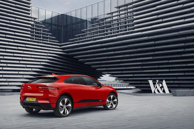 Jaguar I-Pace в музее дизайна Шотландии
