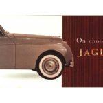 Jaguar Mini Brochure 1959