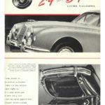 Jaguar Mk 1 2.4-3.4 Litre brochure 1958