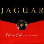 Jaguar Mk 1 2.4-3.4 Litre catalogue 1958