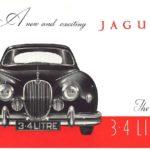 Jaguar Mk 1 3.4 Litre catalogue 1955
