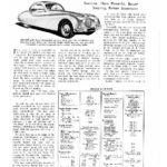 Jaguar XK140 - The Motor article 1955