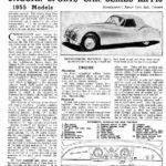 Motor Trader 1955 - Jaguar XK140 service data